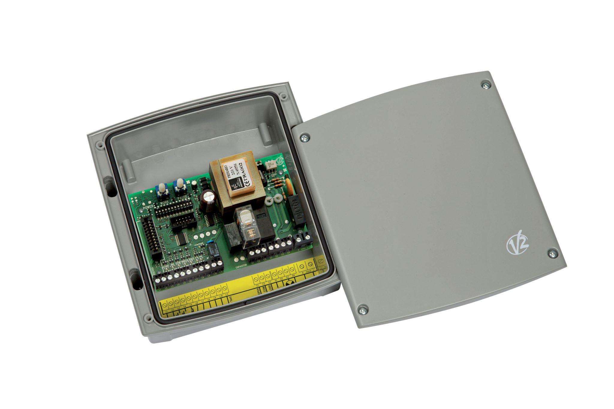 Schema Elettrico Per Motore Tapparelle : Centrale di comando analogica v per serrande avvolgibili con